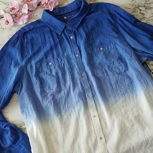 Stylus Ombre Button Down Shirt